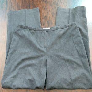 Gray Flat Front Calvin Klein Dress Slacks/Pants